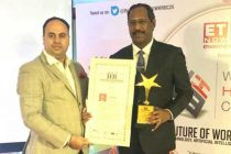 'PRIDE OF HR IN PSU' AWARDED TO R.VIKRAMAN, DIRECTOR/HR, NLC INDIA LIMITED