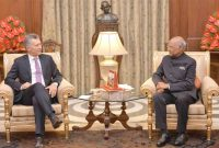 PRESIDENT HOSTS PRESIDENT OF ARGENTINA; SAYS INDIA'S TRANSFORMATIVE GROWTH AND ARGENTINE CAPABILITIES ARE CREATING NEW OPPORTUNITIES