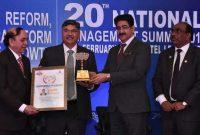 PNB MD & CEO bags award for entrepreneurship at 20th National Management Summit