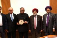 CMD PFC honoured with meritorious Energy Service Award by India Energy Forum
