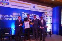 Anil Saberwal, ED (HRD) Powergrid awarded with Top Rankers Excel-lence Award