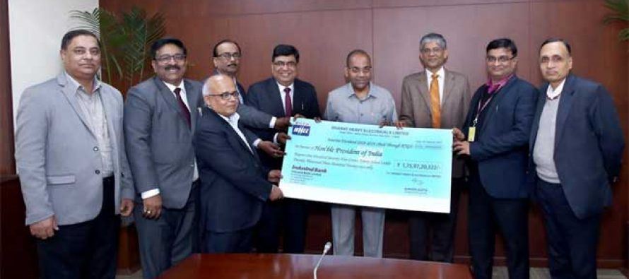BHEL pays 40% Interim Dividend for fiscal 2018-19