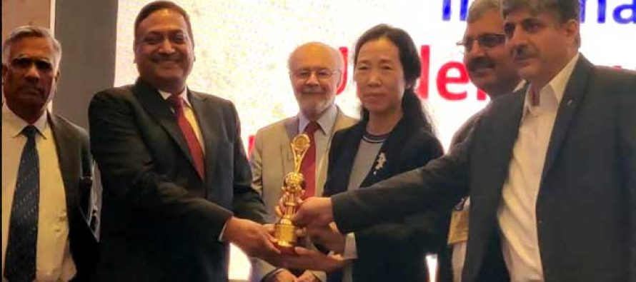 """NHPC conferred with """"TAI Tunneling Project of the year award"""""""