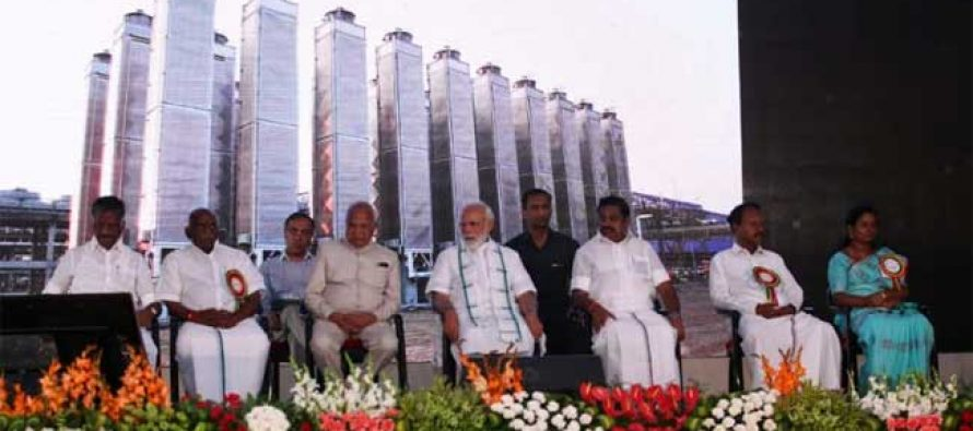 Prime Minister of India dedicates IndianOil's Ennore LNG Terminal to the nation