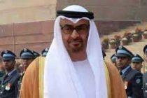 Abu Dhabi Crown Prince to visit China