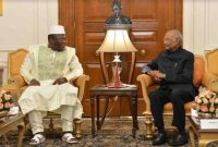 PRIME MINISTER OF GUINEA CALLS ON THE PRESIDENT
