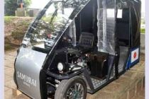 Sri Lanka launches first ever electric 'tuk tuk'