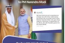UAE awards Modi highest civilian honour