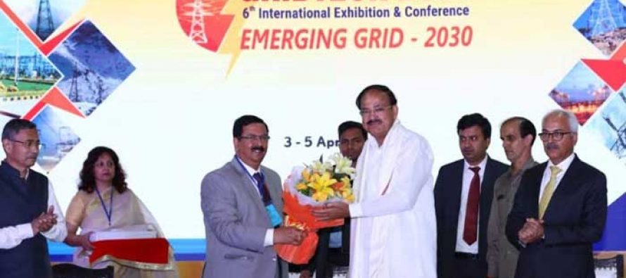 Vice President of India inaugurates GRIDTECH-2019