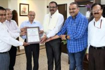 CMD, NHPC conferred 'Eminent Water Resources Engineer Award'