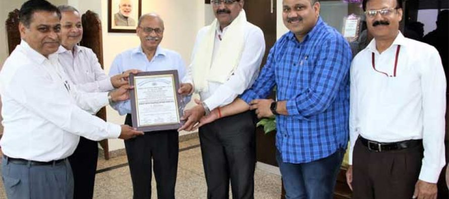 CMD, NHPC conferred 'Eminent Water Resources Engineer Award'