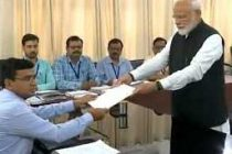 Modi files nomination from Varanasi, NDA stands in support