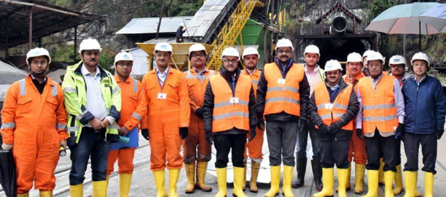 Secretary (Power) visits Parbati-II Project & Parbati-III Power Station of NHPC