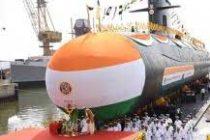 Indian Navy gets third Scorpene submarine