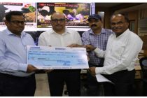 Oil India Limited contributesRs. 3.20 Crores  to the Chief Minister Relief Fund, Government of Odisha