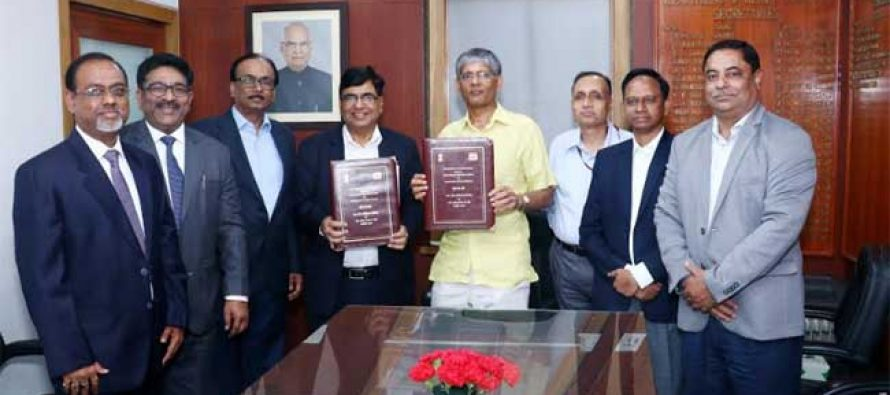 BHEL Signs MoU 2019-20 with Govt. of India