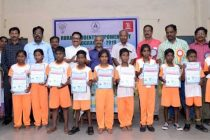 NLCIL motivates the students of Gaja Cyclone affected Districts