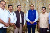 POWERGRID CMD meets CM, Himachal Pradesh