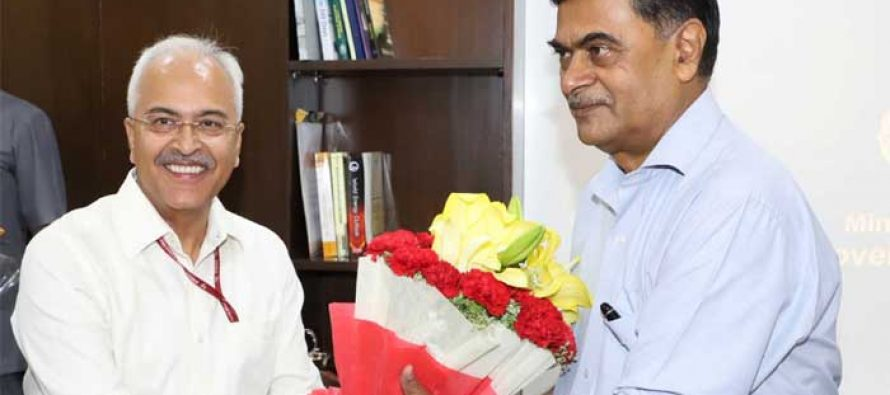 RK Singh takes over the charge of the Ministries of Power and New & Renewable Energy