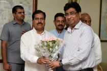 Suresh Angadi Channabasappa takes charge as new Minister of State of Railways