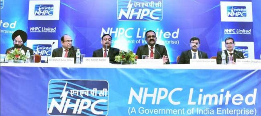 NHPC Conducts Analyst Meet Post Annual Result for FY 2018 -19