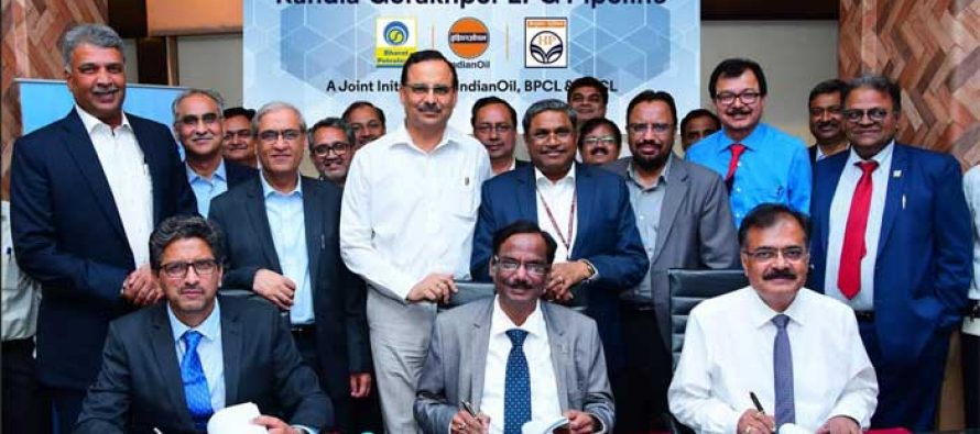 IndianOil joins hands with BPC and HPC for laying the world's longest LPG pipeline