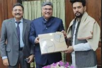 PNB felicitates Shri Anurag Thakur, Minister of State for Finance & Corporate Affairs