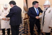 Kyrgyz President gifts hat, coat to Modi
