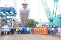 ERECTION OF INDIA's HEAVIEST REACTOR IN HPCL-VISAKH REFINERY MODERNIZATION PROJECT