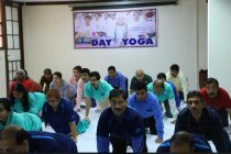 5th International Day of YogaObserved by HUDCO