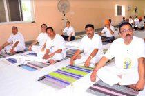 NHPC celebrates 5th International Day of Yoga