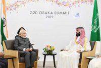 PM meets Saudi Prince, discuss ways to deepen cooperation