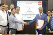 SJVN & NEEPCO Entered into MoU for Jointly Exploring Power Projects in India & Abroad