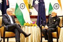 Australian PM praises Modi in a Hindi tweet