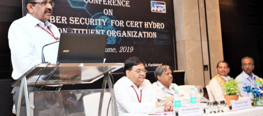 NHPC organizes Conference on Cyber Security for CERT Hydro Constituent Organization