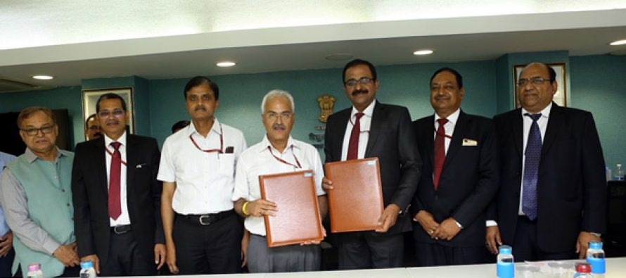 NHPC SIGNS MoU WITH MINISTRY OF POWER FOR  THE YEAR 2019-20