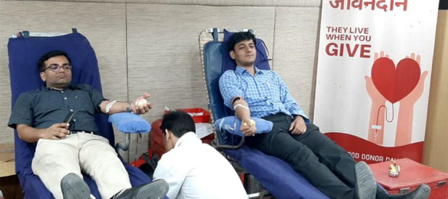 REC Celebrates World Blood Donor Day, Organizes Blood Donation Drive with Lions Blood Bank