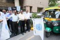 GAIL's CMD flags off 'Hawa Badle Hum' campaign for creating awareness against Air Pollution