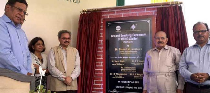 IndianOil & IGL lay foundation stone for India's first H-CNG station