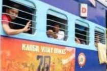 Vinyl stickers on 218 train coaches to remember Kargil heroes