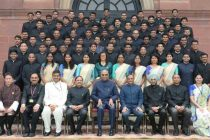 PROBATIONERS OF INDIAN FOREST SERVICE CALL ON THE PRESIDENT
