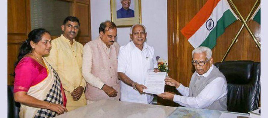 Yediyurappa wins floor test in Karnataka Assembly