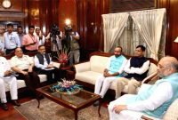 Shah and his team of 16 working on Kashmir, NRC