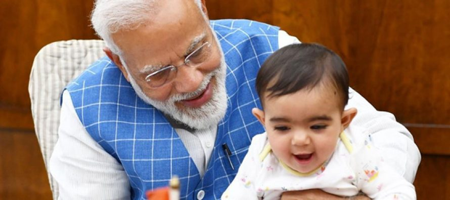 PM's photo with toddler goes viral, child identified