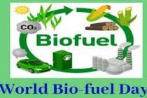 World Biofuel Day to be observed on 10th August 2019