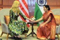 Sushma Swaraj was a champion for women: Ivanka Trump