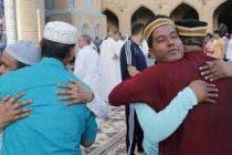 Arab Muslims celebrate Eid