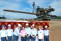Secretary, Ministry of Coal, GoI Inaugurated the new 11000 TPH SPREADER at Neyveli Mines &   Skill Development Centre (NLCIL-AU)