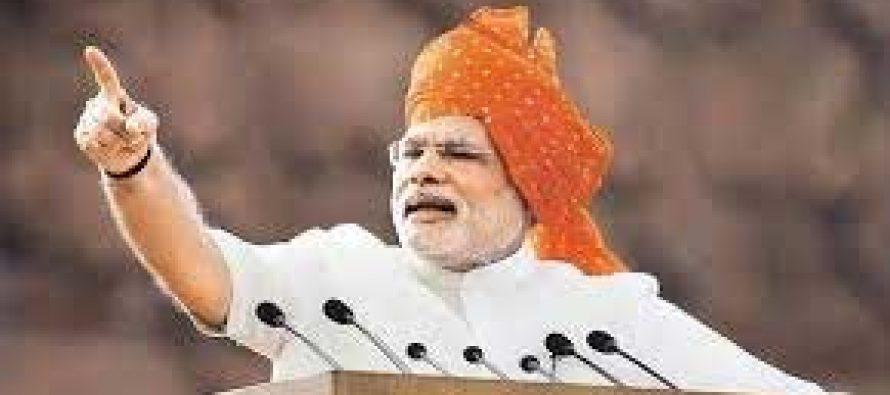 Help make Kashmir a 'paradise again' : PM Modi