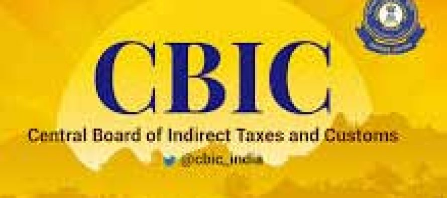 CBIC assigns nodal officers in each zone to facilitate Covid related imports
